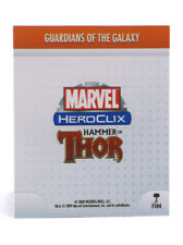 Marvel Heroclix Guardians Of The Galaxy Feat Card F104 Hammer Of Thor OP Kit LE