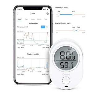Govee WiFi Temperature Humidity Monitor for iPhone/Android, Wireless Digital Hyg