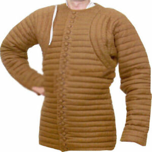 Gambeson-thick-padded-coat-Aketon-vest-Jacket-Armor-Awesome-Halloween-Gift