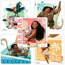 20 Disney Moana STICKERS Party Favor Teacher Supplies Treat Bag