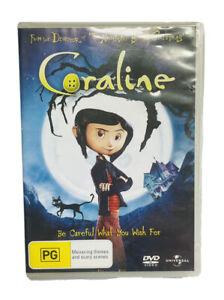 Coraline (DVD, 2010) - Region 4