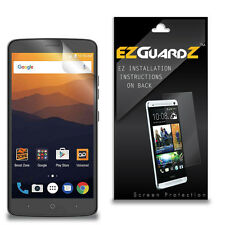 2X EZguardz Clear Screen Protector Shield HD 2X For ZTE Max XL