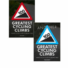 100 Greatest Cycling Climbs 2 Books Collection Set By Simon Warren NEW
