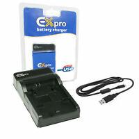 Ultra Slim USB Battery Charger for Canon BP-808,BP808,BP809,BP-809,BP819,BP-819