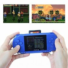 PXP 3 Slim-Sapphire Portable Video Game Player 16 Bit 100+ Giochi Regalo di appiglio