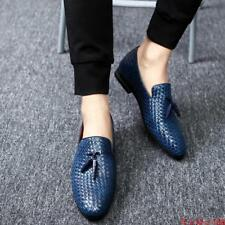 Mens Oxford Breathable Slip On Loafers Casual tassels Dress formal Shoes Plus SZ
