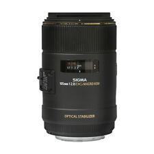 Sigma 105mm f/2.8 EX DG OS HSM Macro Lente para Cámaras Nikon F