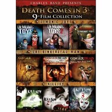 NEW Death Comes in 3s (DVD 2-Disc Set) 9 MOVIE COLLECTION SET PARTS 1 2 3