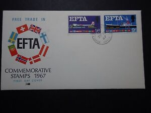 FDC - EFTA - BOXALL HANTS - REF 510