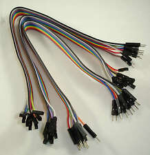 Pack 30 Dupont Prototype Cable Female/Male Hembra/Macho 300mm Arduino
