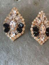 Diamant Modeschmuckstücke aus Metall-Legierung mit Strass-Perlen