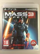 PS3 Mass Effect 3 REGION 2 Video Game PAL online multiplayer bioware COMPLETE