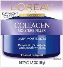 L'Oreal Paris Collagen Moisture Filler Facial Day Night Cream 1.7 oz NEW IN BOX!
