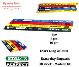 LONG HB PENCILS Wood/Glass/Ceramics/Stone/Brick/Carpenter/Wet/Hard/Marking