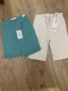 Zara boys shorts age 10