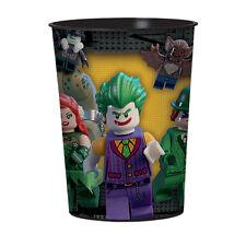 Lego Batman fiesta de Cumpleaños alcance - vajilla globos & Decoración Amscan 6 X detalle fiestas tazas