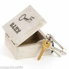 Wooden Key Box - Distressed Wood - Storage - Hall - Kitchen - Office Car Keys