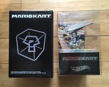 SDCC 2019 Mattel Hot Wheels Silver Mario Kart Die-Cast SEALED