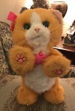 Hasbro FurReal Friends Daisy Plays With Me Orange Kitten Cat Interactive