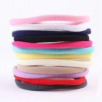 10PCS Baby Girl Headbands Elastic Nylon Kids Hair Bands Rope Hearwear Gift