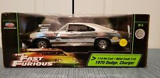 EXTREMELY RARE! The Fast & The Furious CHROME 1970 Dodge Charger 1:18 S/C