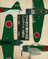 Japanese Navy Aircraft Painting Handbook Zero Fighter With tracking number DHL
