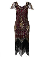 Prom Dresses Women Clothing Plus Size Flapper Costume Vintage Gatsby 1920s Dress