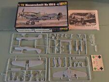Heller Messerschmitt Me 109 K-4 1/72 Scale Model 229 Unbuilt