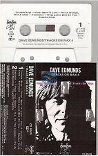 DAVE EDMUNDS cassette K7 tape TRACKS ON WAX 4
