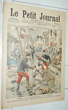 PETIT JOURNAL 1904 INONDATIONS MAMERS ARMEE 115e / PV POUR EXCES VITESSE