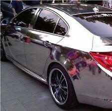 Car Auto Vehicle Mirror Chrome Sticker Decal Silver Gloss Wrap Film Sheet