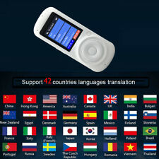 "2.4"" Wifi Smart 42 Languages Voice Translator Translation Traveling Learnning"