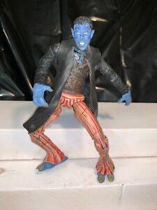 "Nightcrawler X-Men United Movie Super Poseable 6"" Figure ToyBiz 2003"