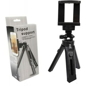 PHONE CAMERA TRIPOD FITS ALL PHONES 360 ROTATION ALLOY FLEXIBLE