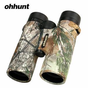 Ohhunt 10x42 Waterproof Powerful HD Binoculars Telescope BAK4 Roof Prism Hunting