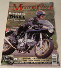 Classic MC Jan 2005 Triumph 100C, AJS 18S, Bernadet Y52, Brough Superior 680
