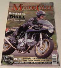Classic MC Jan 2005 Triumph 100C, AJS 18S, Bernadet Y52, Brough Superior 680
