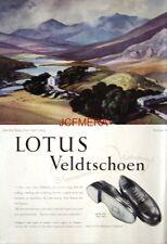1952 LOTUS Veldtschoen Shoe Advert 'Capel Curig' - Rowland Hilder Art Print AD