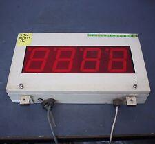 4 100mm digit LED Digital Display Unit LD4-RS-240-1004 in cabinet 240V RS232