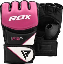RDX Ladies GEL Tech MMA UFC Grappling Gloves Fight Boxing Punching Bag AU S