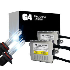 G4 AUTOMOTIVE H1 Premium HID XENON Kit AC 55W High Power Headlight All Color