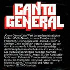 NEW Canto General (Audio CD)
