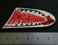 """VINTAGE YAMAHA SNOWMOBILE PATCH ABOUT 6"""" X 3"""" NEW UNUSED"""
