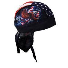 Zandana foulard Bandana Aigle Drapeau US américain eagle moto custom Biker motor