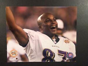 Qadry Ismail Celebration SUPER BOWL XXXV CHAMPS 8x10 PHOTO Baltimore Ravens