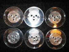 "Lot of 6 Empty Reels 5 Inch Take Up for 1/4"" Audio Tape Plastic Blank Reel"