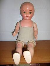 """Unbranded ~ 1920's Compo/Cloth 23"""" Doll"""