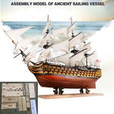 Modell Historisches Segelschiff Schiffsmodell Holz Handarbeit Modellschiff Neu.