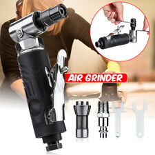 Angle Air Die Grinder 1/4'' Pneumatic Cut Off Polisher Cleaning Cutting + Wrench