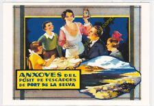 Reproducción antigua publicidad ANXOVES DE PORT DE LA SELVA